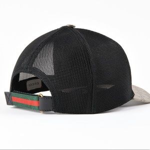 Gucci Accessories - GUCCI BASEBALL HAT GG SUPREME ANGRY CAT fbeb124aff38
